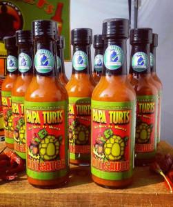 Papa Turts Hot Sauces