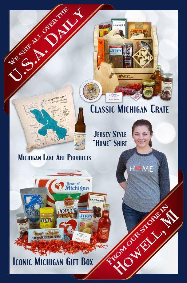 Heart Of Michigan GiftBaskets  GiftsFromMichigan