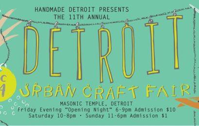 The Detroit Urban Craft Fair by Handmade Detroit