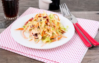 Apple Bacon Coleslaw Recipe